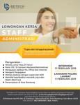 Lowongan PT. Bandung Digital Teknologi