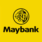 Logo Bank Maybank Indonesia (d/h BII)