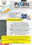 Lowongan Pixels Mega Printing