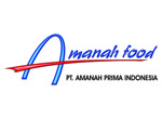 Lowongan PT Amanah Prima Indonesia (Amanahfood)