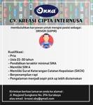 Lowongan CV. Kreasi Cipta Internusa