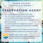 Lowongan Nomad Holiday Rentals