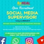 Lowongan ReHEAL Healing Massage and Therapy