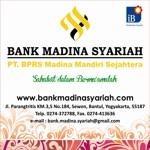 Lowongan PT BPRS Madina Mandiri Sejahtera ( Yogyakarta )