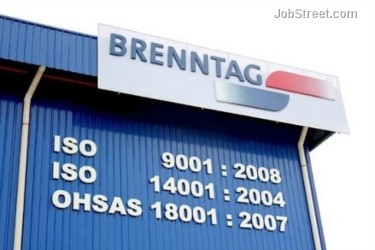 Sales Account Manager (Food & Nutrition) Job - Brenntag Sdn